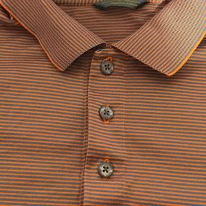 Descent Men Polo Egyptian Cotton XL Orange…